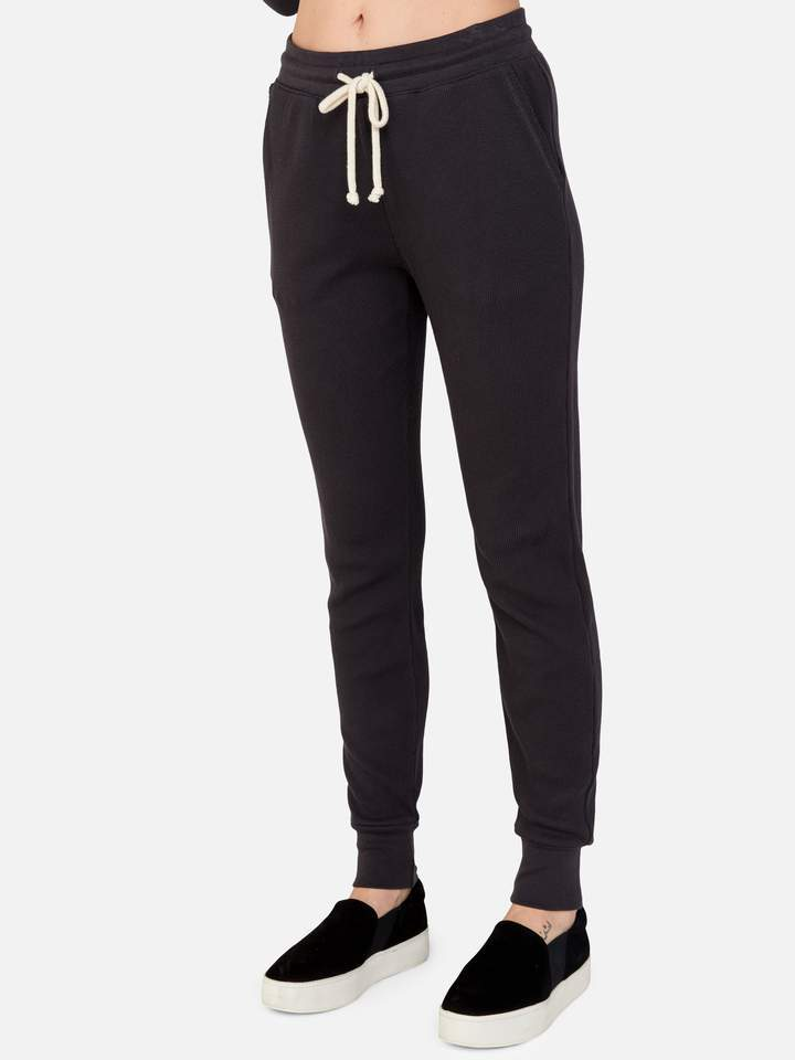 Dakota thermal jogger in charcoal