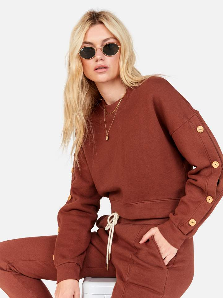 mate the label Harvey Sweater tobacco
