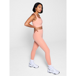 girlfriend collective high rise compressive legging in sherbert