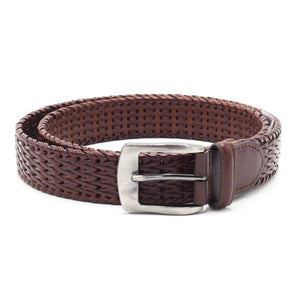 STACY ADAMS BELT BROWN
