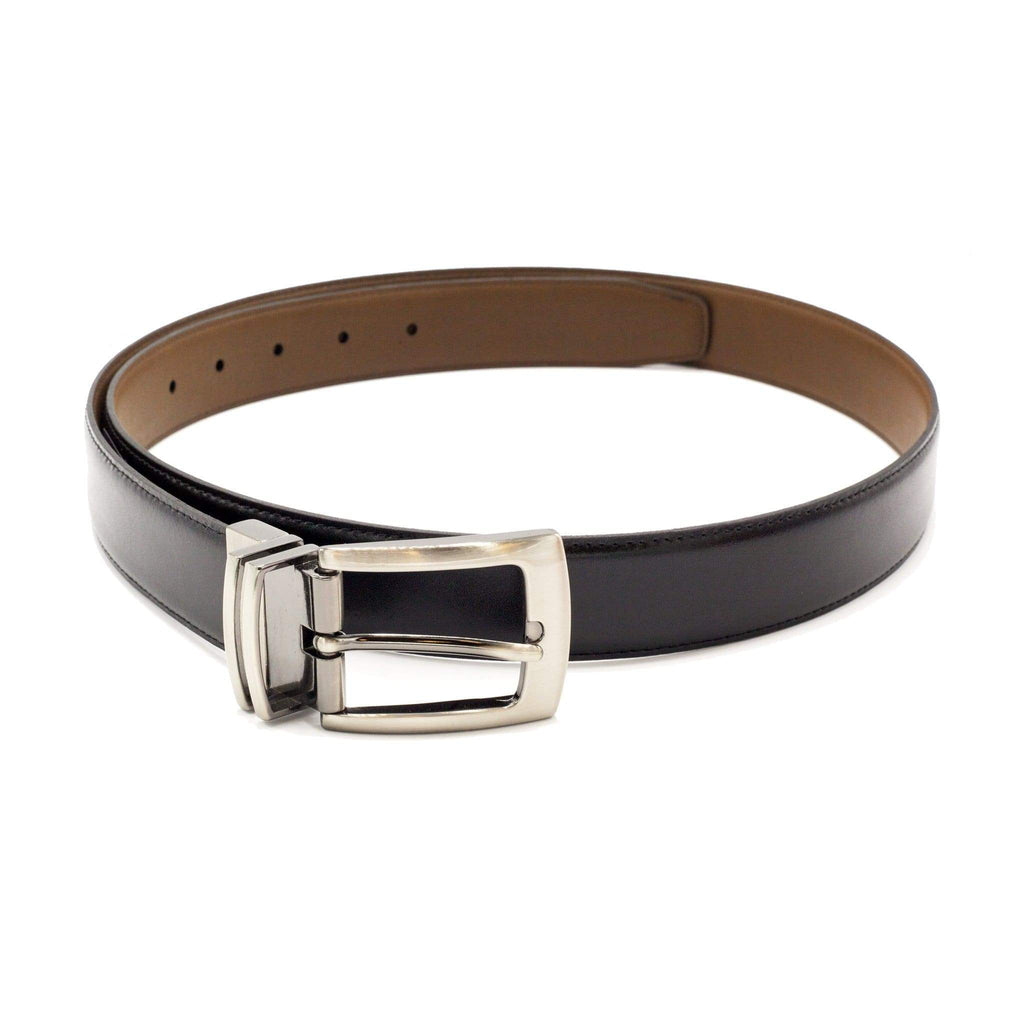 STEVEN LAND BELT BLACK SOLID