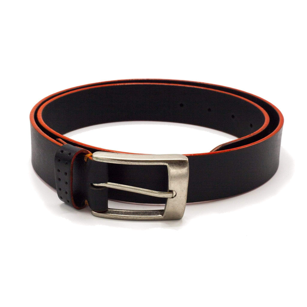 TALIA BELT BLACK & ORANGE