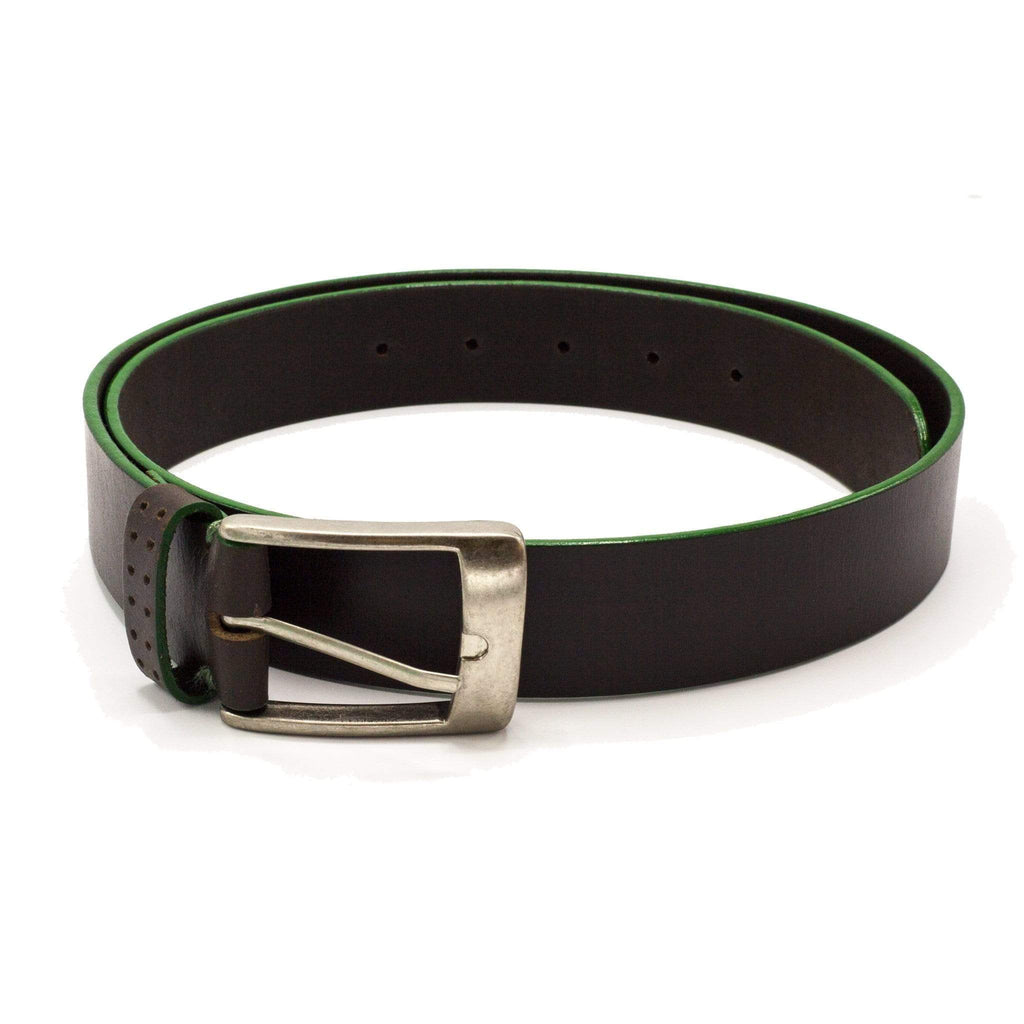 TALIA BELT DARK BROWN