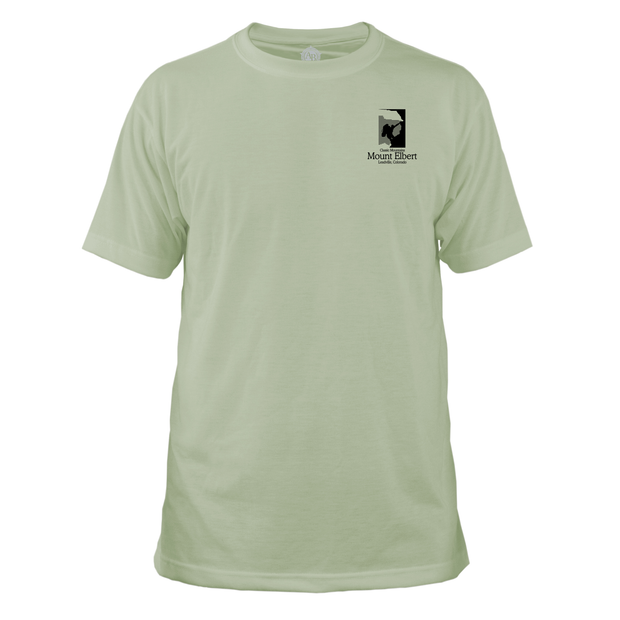 Mount Elbert Classic Mountain Basic Crew T-Shirt