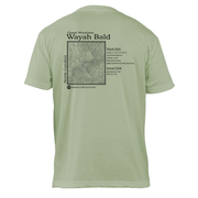 Wayah Bald Classic Mountain Basic Crew T-Shirt