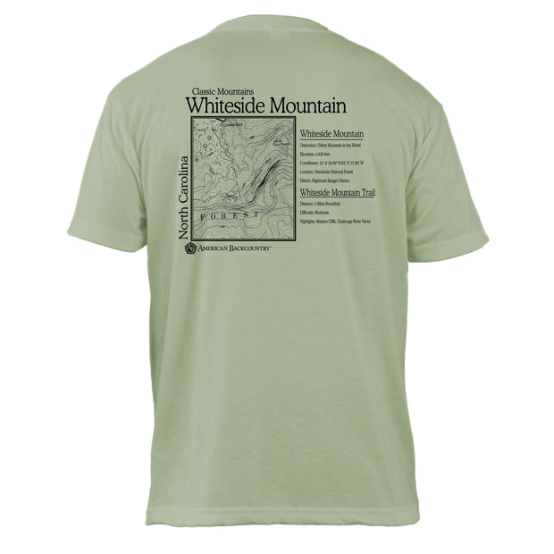 Whiteface Mountain Classic Mountain Basic Crew T-Shirt