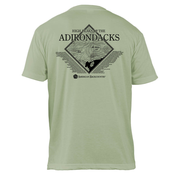 Adirondacks Diamond Topo Basic Crew T-Shirt