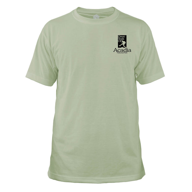 Acadia National Park Great Trails Basic Crew T-Shirt