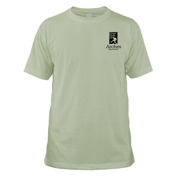 Arches National Park Great Trails Basic Crew T-Shirt