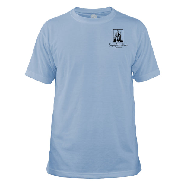 Sequoia National Park Vintage Destinations Basic Crew T-Shirt