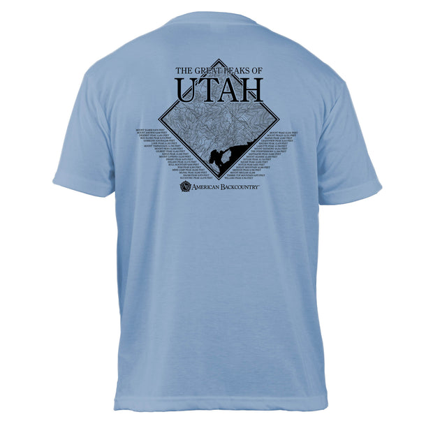 Utah Diamond Topo Basic Crew T-Shirt