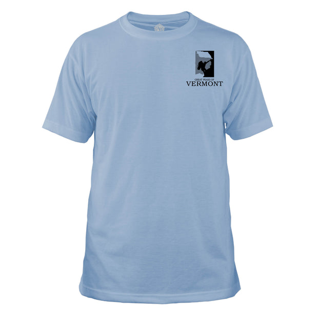 Vermont Diamond Topo Basic Crew T-Shirt