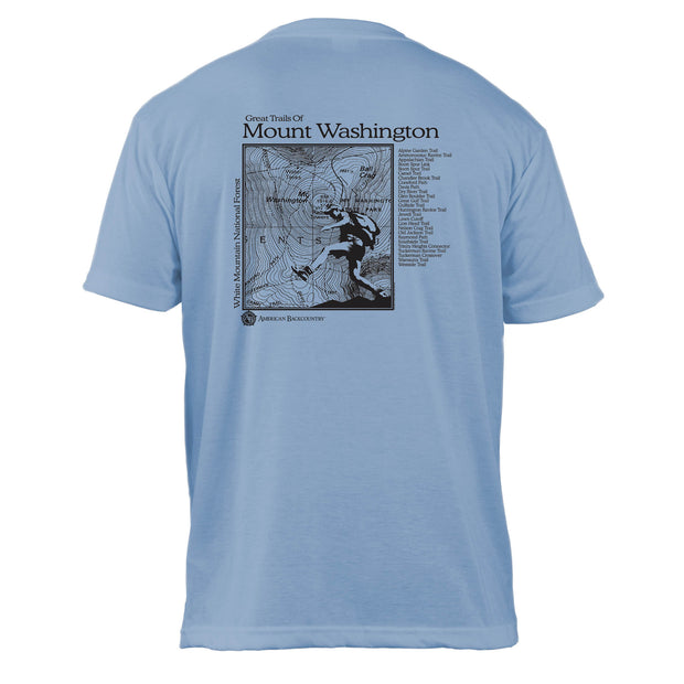 Mount Washington Great Trails Basic Crew T-Shirt