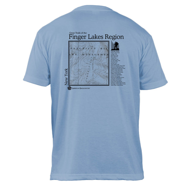 Finger Lakes Great Trails Basic Crew T-Shirt