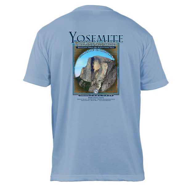 Yosemite National Park Retro Interpretive Basic Crew T-Shirt