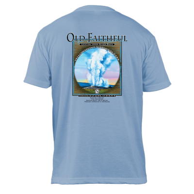 Old Faithful Retro Interpretive Basic Crew T-Shirt