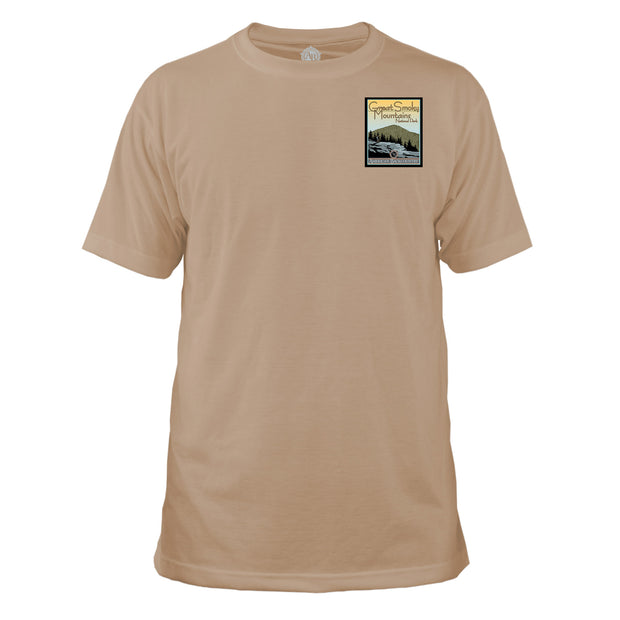 Smoky Mountain National Park Vintage Destinations Basic Crew T-Shirt