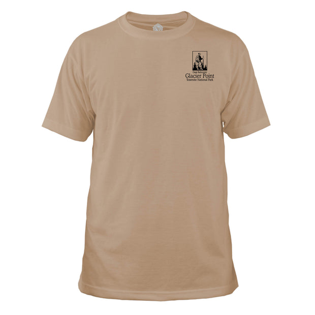 Glacier Point National Park Classic Backcountry Basic Crew T-Shirt