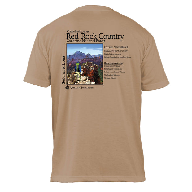 Red Rock Country Classic Backcountry Basic Crew T-Shirt