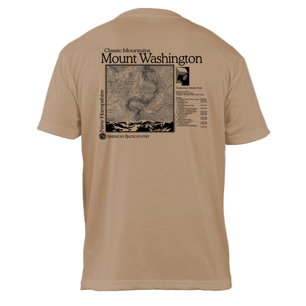 Mount Washington Classic Mountain Basic Crew T-Shirt