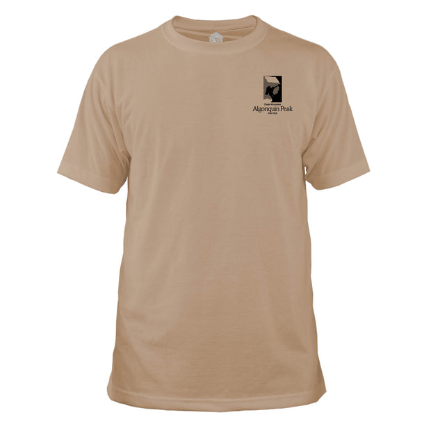 Algonquin Peak Classic Mountain Basic Crew T-Shirt