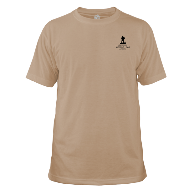 Wasson Peak Classic Mountain Basic Crew T-Shirt