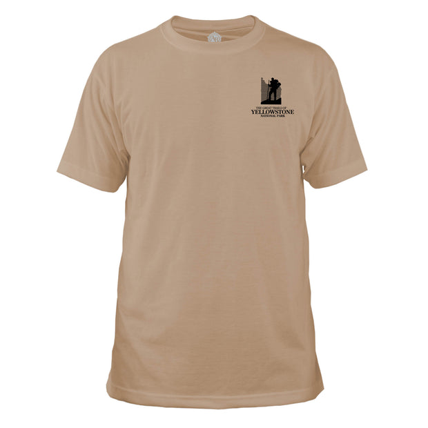 Yellowstone National Park Great Trails Basic Crew T-Shirt