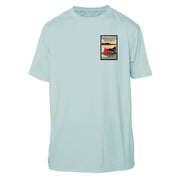 Boundary Waters Vintage Destinations Short Sleeve Microfiber Men's T-Shirt