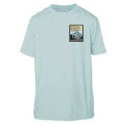 Mount Baker Vintage Destinations Short Sleeve Microfiber Men's T-Shirt