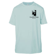Granit Peak Classic Mountain Short Sleeve Microfiber Men's T-Shirt