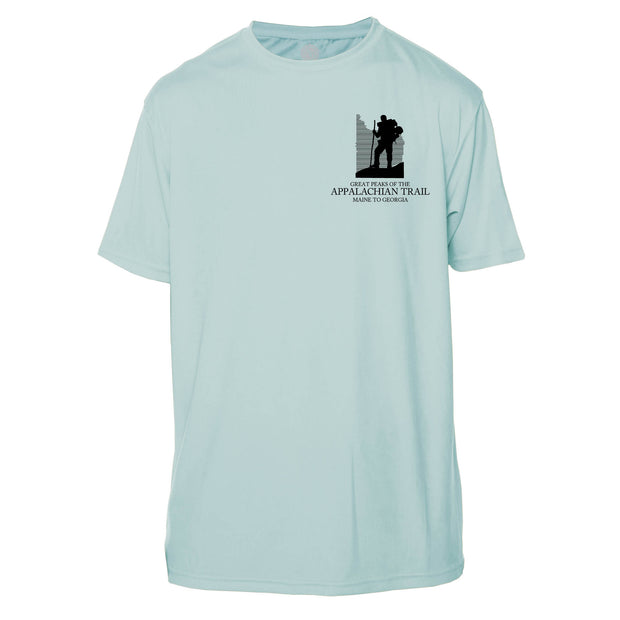 Appalachian Trail Diamond Topo  Short Sleeve Microfiber Men's T-Shirt