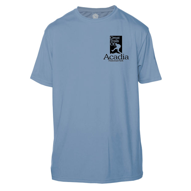 Acadia National Park Great Trails Short Sleeve Microfiber Men's T-Shirt