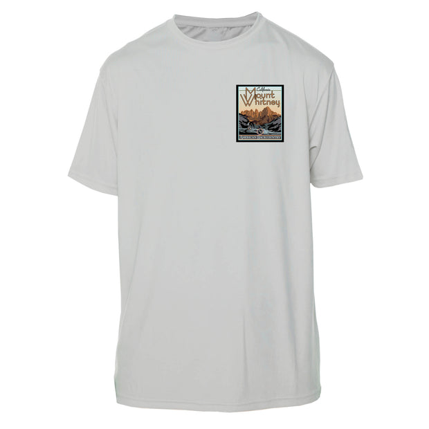 Mount Whitney Vintage Destinations Short Sleeve Microfiber Men's T-Shirt