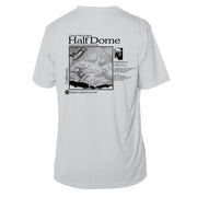 Half Dome Classic Mountain Short Sleeve Microfiber Men's T-Shirt