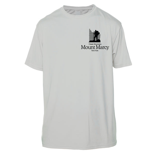 Mount Marcy Classic Mountain Short Sleeve Microfiber Men's T-Shirt