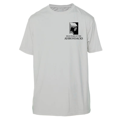 Adirondacks Diamond Topo Short Sleeve Microfiber Men's T-Shirt