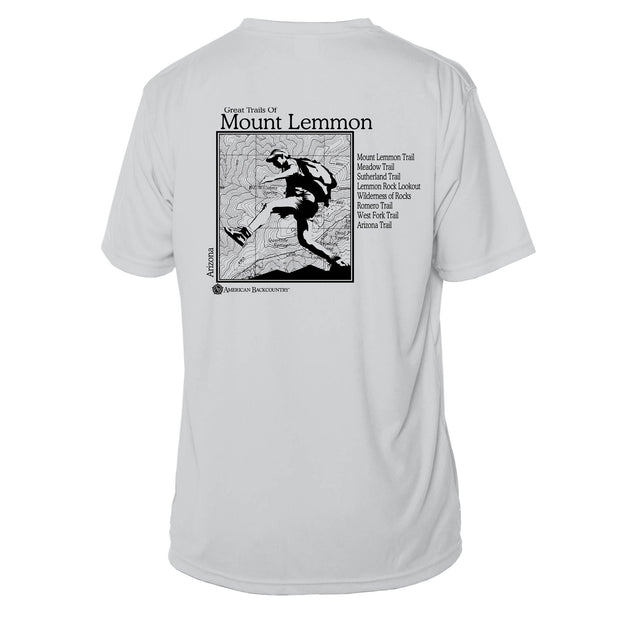 Mount Lemmon Great Trails Short Sleeve Microfiber Men's T-Shirt