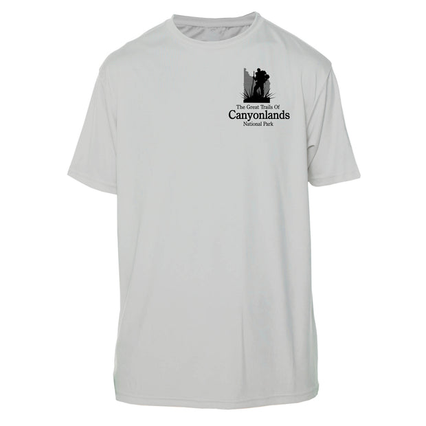 Canyonlands Great Trails Short Sleeve Microfiber Men's T-Shirt