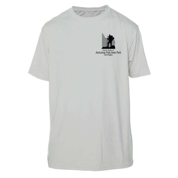 Amicalola Falls Great Trails Short Sleeve Microfiber Men's T-Shirt