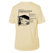 Clingmans Dome Classic Mountain Short Sleeve Microfiber Men's T-Shirt