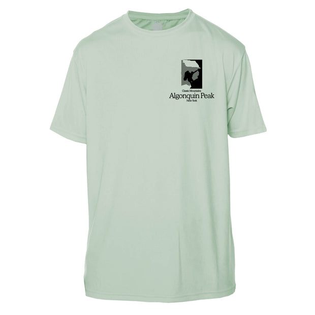 Algonquin Peak Classic Mountain Short Sleeve Microfiber Men's T-Shirt