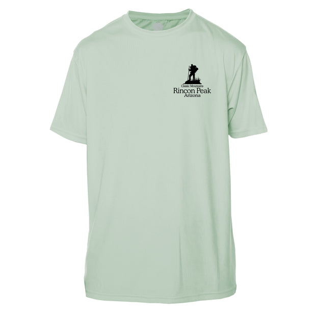 Rincon Peak Classic Mountain Short Sleeve Microfiber Men's T-Shirt
