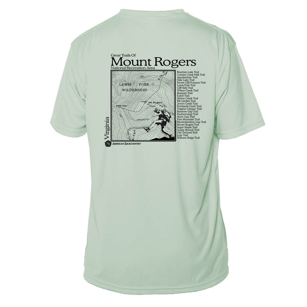 Mount Rogers Great Trails Short Sleeve Microfiber Men's T-Shirt