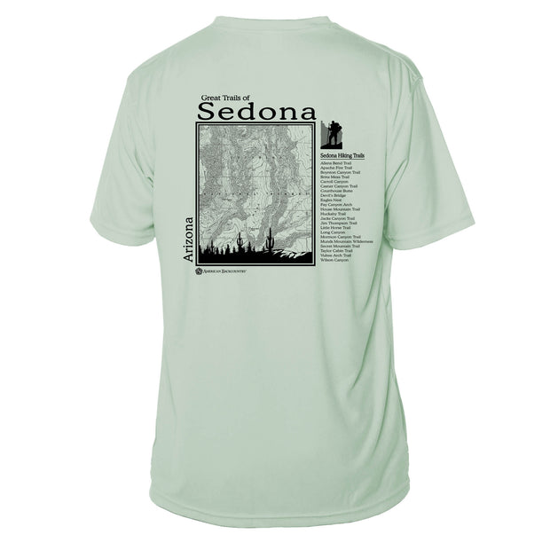 Sedona Great Trails Short Sleeve Microfiber Men's T-Shirt