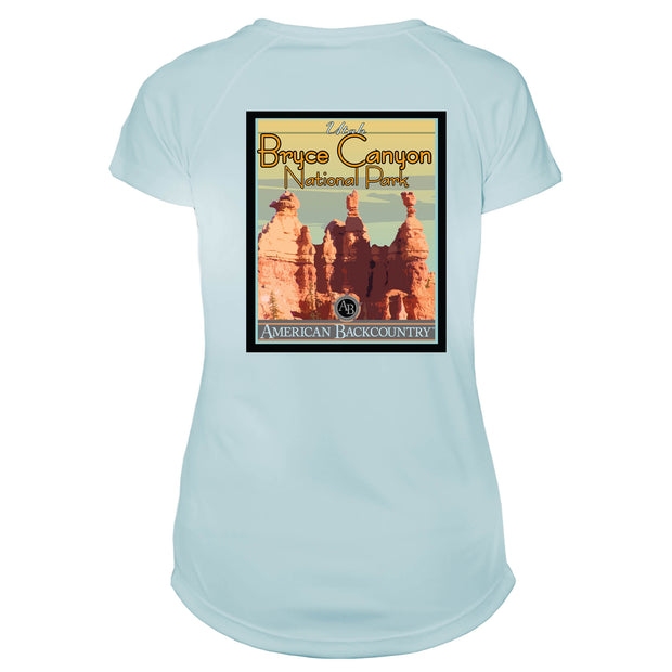 Bryce Canyon National Park Vintage Destinations Microfiber Women's T-Shirt