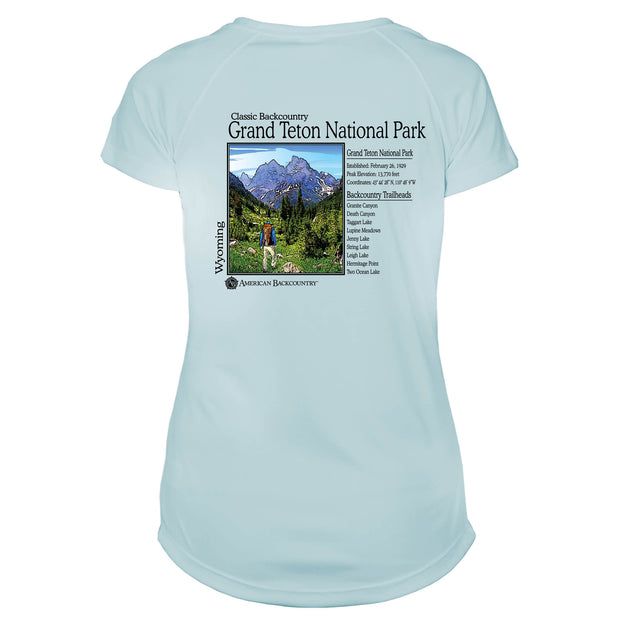 Grand Teton Classic Backcountry Microfiber Women's T-Shirt