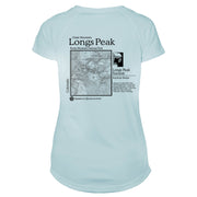 Longs Peak Classic Mountain Microfiber Women's T-Shirt
