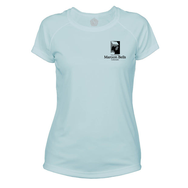 Maroon Bells Classic Mountain Microfiber Women's T-Shirt