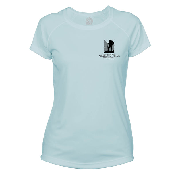 Appalachian Trail Diamond Topo  Microfiber Women's T-Shirt