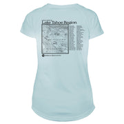 Lake Tahoe Great Trails Microfiber Women's T-Shirt